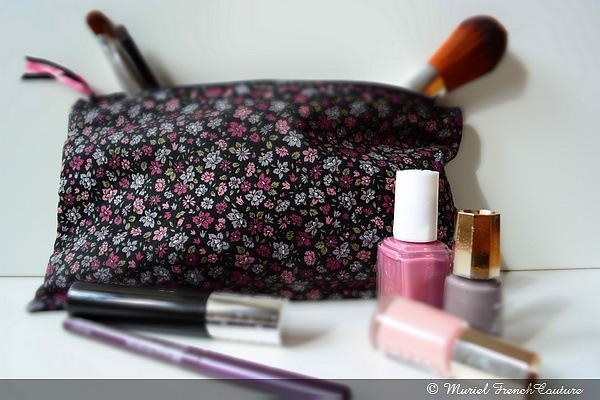 Trousse Maquillage Liberty Violette